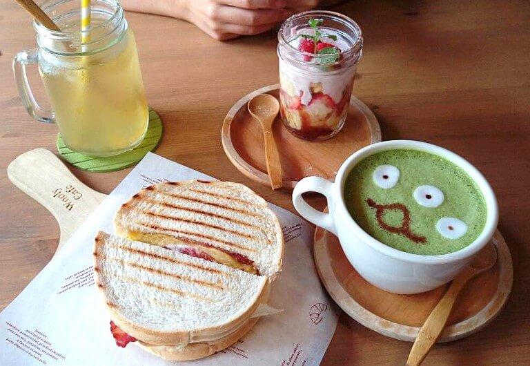 【桃園】Wooly cafe 鄉村風咖啡廳 (火車站附近)